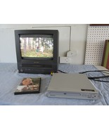 Phillips Magnavox Dvd Player Model MWD200G With Cables and DVD No Remote - $24.79