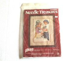 1977 Needle Treasures Jan Hagara Stitchery KIT Spring and Lance 10x14 00543 - $9.99