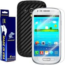 ArmorSuit MilitaryShield Samsung Galaxy S3 Mini Screen + Black Carbon Fiber Skin - $32.99