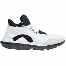 Adidas Herren Y-3 Saikou Gestrickt Turnschuhe Weiß/Schwarz Boost Turnschuhe - $256.47+