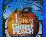 James and the Giant Peach (Blu-ray/DVD 2-Disc Set) Disney Children Family
