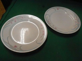 "Beautiful GIBSON China.......Set of 2 BREAD-SALAD-DESSERT Plates 7.5"" - $6.52"