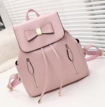 2017 autumn wave of the new college ladies PU leather shoulder bag simple travel - $32.44
