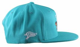 Hall Of Fame H Hound Wool Blend Embroidered Turquoise Snapback Baseball Hat Cap image 3