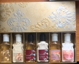 Bath And Body Works Pleasures Lotion Shower Gel Gift Set 6 New Easter - $29.69