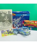 Centurions action figure 1986 Kenner Doom Drone Strafer vehicle box comp... - $256.22
