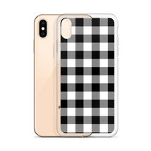 Plaid iPhone Xs Max XR Case iPhone 7 Plus 8 Plus iphone X XS Cover, Lumb... - $14.95