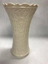 Lenox Wentworth VINTAGE vase mid century large Ivory 11 inch tall signed - $45.04