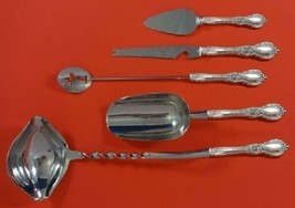 Charlemagne by Towle Sterling Silver Cocktail Party Serving Set 5pc Custom Made - $322.05
