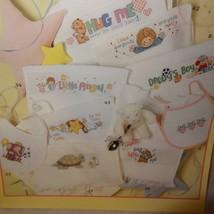 Baby Bibs Cross Stitch Pattern Booklet 3272 2001 52 Designs Animals Tedd... - $18.99