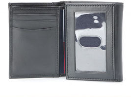 Tommy Hilfiger Men's Premium Leather Credit Card ID Wallet Trifold 31TL11X033 image 6