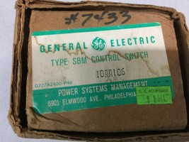 New In Box Ge Type Sbm Breaker Control Switch 10AA106 - $193.50