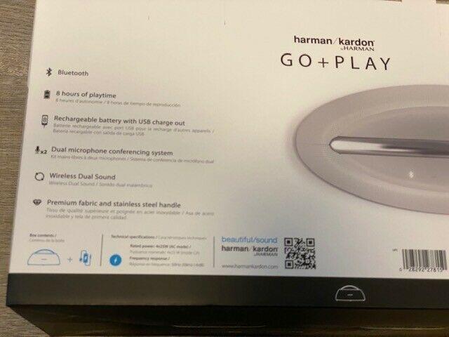 Harman Kardon Go Play Mini portable bluetooth speaker (white) Brand New