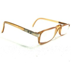 Christian Dior 2116 80 Sunglasses Eyeglasses Frames Clear Brown Rectangular 130 - $46.74