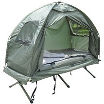 POP UP TENT AIR MATTRESS SLEEPING BAG PORTABLE ... - $189.03