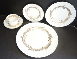 Minton Five Piece Place Setting - Golden Symphony - $37.99