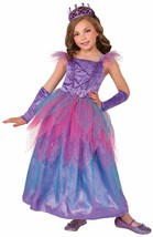 Happily Ever After Royal Purple Fairy Princess Girls Costume w/Glovettes, Forum - $39.99