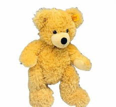 """Steiff Teddy Bear vtg stuffed animal plush beige 11"""" Germany 111327 Fynn... - $74.25"""