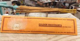 Golden Nagchampa Handrolled Natural Himalayan Flora Incense Stick. - $4.19