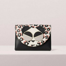 Kate Spade spademals gentle panda cardholder Wallet ~NWT~ Floral - $110.88