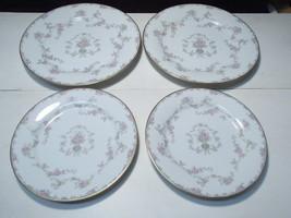 4 Noritake Windsor Plates ~~ 2 Dinner Plts & 2 Salad Plates ~~ good fill... - $19.95