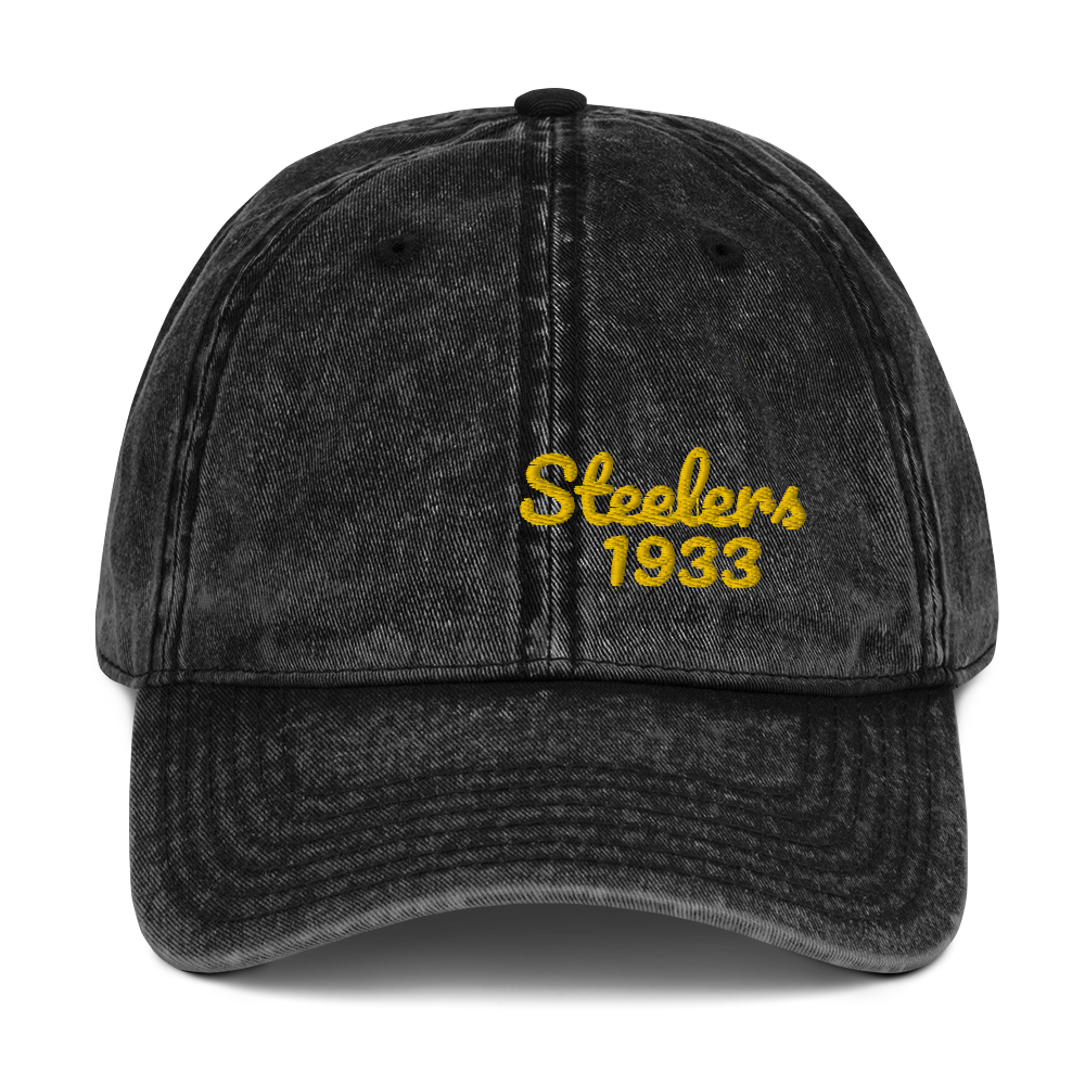Steelers Hat / 1933 Steelers // Vintage Cotton Twill Cap
