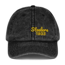 Steelers Hat / 1933 Steelers // Vintage Cotton Twill Cap image 1