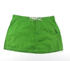 J Crew Womens Skirt Cotton Mini Drawstring Sz 10 - $19.95