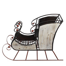 """36"""" Decorative Winter Forest Sleigh Christmas Display Figure - $202.94"""