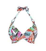 Freya Mardi Gras AS3780 W Underwired Halter Bikini Top - $41.19
