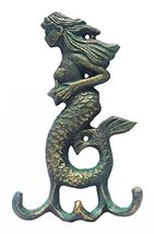 Iron Verdigris Mermaid Hook image 10