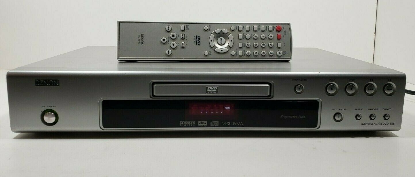 Denon DVD Player DVD-556 With Remote Tested