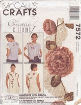 McCALL'S PATTERN 7572 SIZES S/M/L MISSES' VEST 2 LENGTHS - $3.90