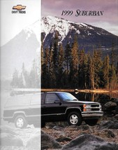 1999 Chevrolet SUBURBAN sales brochure catalog US 99 Chevy - $8.00