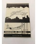 Vintage Matchbook Cover Matchcover US Air Force Base Charleston SC - $5.70