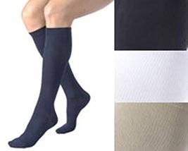 Activa Women's Ribbed Dress Socks 20-30 Mmhg - Medium - Navy [Health and Beauty] - $20.99