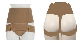 NEW WOMEN'S FULLNESS BUTT LIFTER TUMMY CONTROL SHAPER PANTY BEIGE #8011