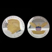 2020 New American US Commemorative Coin Donald Trump Keep America Great ... - $11.99
