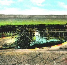 Old Method of Irrigation Water Wheel Grand Junction Colorado CO 1922 DB ... - $6.95