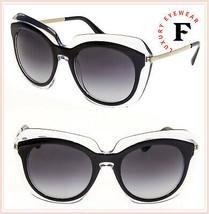 Dolce & Gabbana Double Line Crystal Black Oversized 4282 Sunglasses DG4282S - $227.70