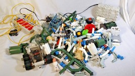 Large Lot of Vintage 1984 Milton Bradley Robotix Motorized Building Syst... - $49.99