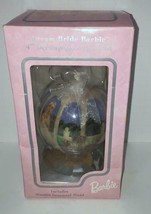 1997 Dream Bride Barbie Decoupage Ornament - $7.91
