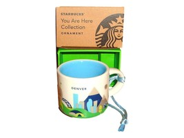 HTF Starbucks Denver You Are Here Ornament Rare 2oz Cup - $22.15