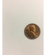 1956 PENNEY CRACKED HEAD ERROR COIN GEM BU, ON SALE - $8.75
