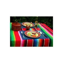 Large Authentic Mexican Saltillo Sarapes Throw Rugs Colorful Blankets - $25.02 CAD