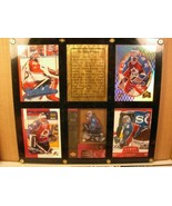 Five Framed Cards The Colorado Avalanche - Patrick Roy - $8.99