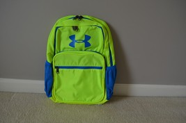 NWT Under Armour Storm 1 Backpack YELLOW GREEN BLUE  - $42.85 CAD