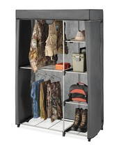 Whitmor Deluxe Covered Double Hang Utility Closet - $69.77