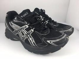 ASICS Gel Kanbarra 5 Men US 8.5 Black + Silver Athletic Trainers Running... - $29.99