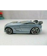 2004 Hot Wheels Mc Do grey car toy - $5.00
